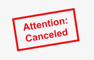 SDA Workshop of October 6th/7th canceled