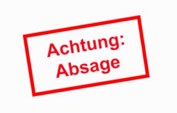 Zürcher Kantonsmeisterschaft Schüler/Junioren/Jugend abgesagt
