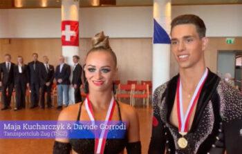 Interview mit den neuen 10-Tanz Schweizermeistern Maja Kucharczyk & Davide Corrodi