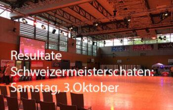 Resultate Schweizermeisterschaft Samstag 3. Oktober 2020