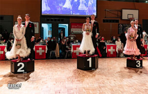 These are the new Latin and Standard Swiss champions!