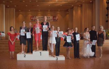 Fotos Siegerehrungen 10-Tanz Schweizermeisterschaften