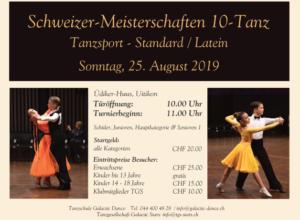 Swiss Championships 10 Dance Timetable, Lineup, ...