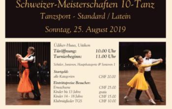 Schweizermeisterschaft 10-Tanz Zeitplan/Startlisten/etc.