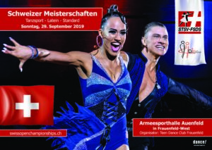 Register for the Swiss Championships Standard & Latein