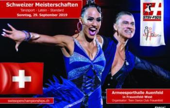 Anmeldung für Schweizer Meisterschaften Standard & Latein