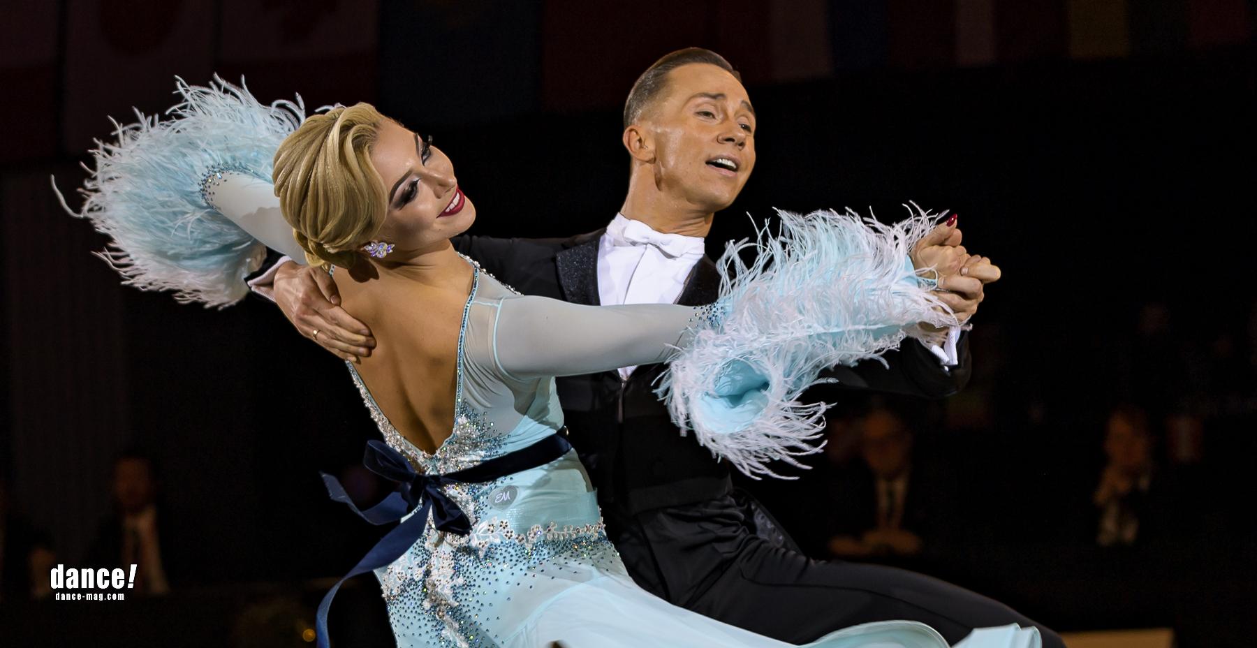 4. Rang: Evgeny Moshenin & Dana Spitsyna, RUS