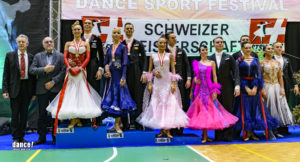 These are the new Swiss Champions Standard & Latin 2018